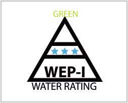 WEP-I Water Rating